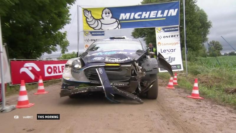 WRC 2017 ORLEN 74th Rally Poland (SS 23)