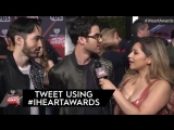 Darren and Chuck Criss on the red carpet of the iHeart Radio Music Awards 2017