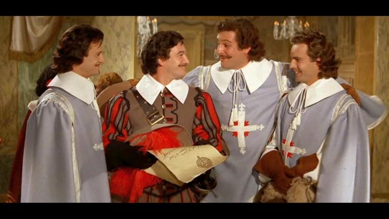 Три мушкетера. (1961. Франция. Италия. Советский дубляж).