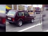 НИВА VS BMW турбо нива