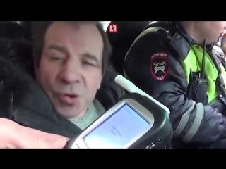 Пьяный водитель установил рекорд на алкотестере!