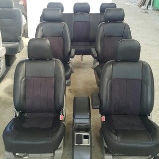 Люксовые сиденья для микроавтобуса