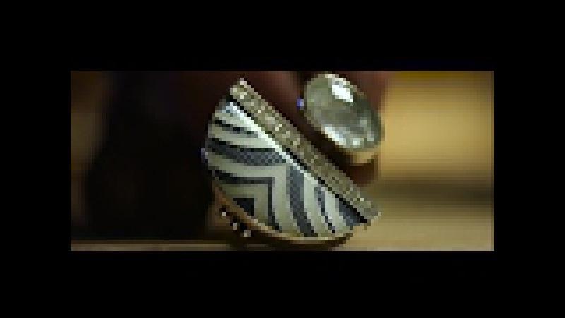 Enamel Ring making. Cloisonne enamels. Jewelry making process.