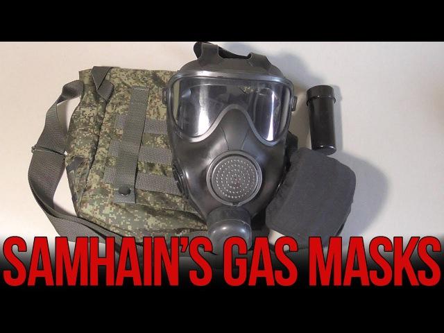 Обзор противогаза ПМК-С   Russian PMK-S gas mask