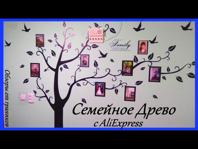 НАКЛЕЙКА НА СТЕНУ: СЕМЕЙНОЕ ДРЕВО С ФОТО КОНКУРС