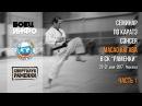 Masao Kagawa's karate seminar. Moscow, May 2017. Part 1