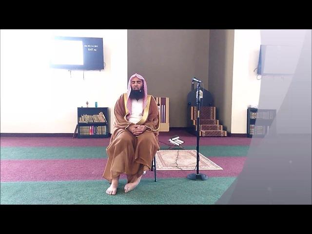 Qari SH. Muhammad Al-Luhaidan Recitation at SNMC on 14th May 2017