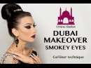 No.1 DUBAI MAKEOVER 1001 NIGHT MAKEUP COLLECTION ARABIC SMOKEY EYES by Emese Backai