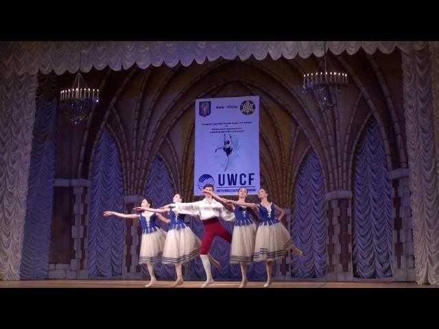 Концерт дружбы Terada ballet art school (г. Киото, Япония) и КГХУ (г. Киев, Украина) 1/4/ 2017 г.