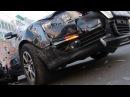 В центре Днепра два Volkswagen Passat не поделили перекресток