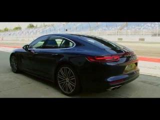 Porsche Panamera 2017. Circuito de Lausitzring, «launch control» y alerón móvil. | km77.com