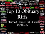 Obituary Top 10 Riffs
