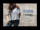 DIY Costura de blusa sin hombros mujer patrones gratis