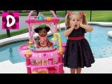 ЧУДЕСА НА КУХНЕ с Беби Элайв! Кухня Куклы Превращается в Ванную My Baby Alive doll Видео для Детей