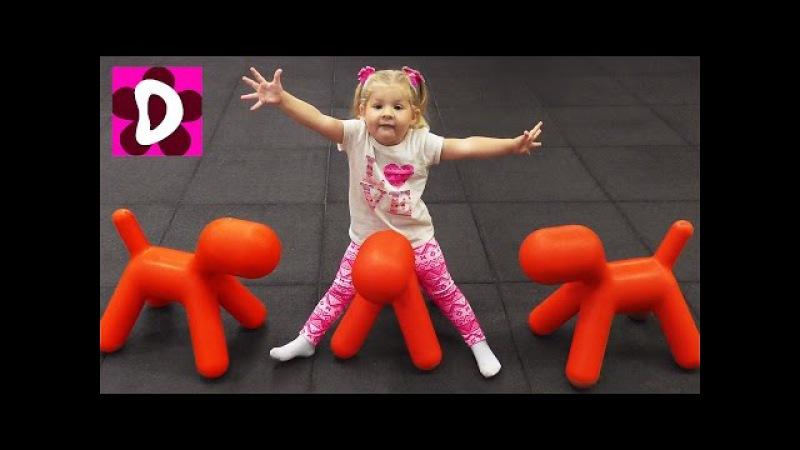 ВЛОГ Потеряли Диану в Лабиринте Развлекательный Центр КРАЙОЛА Видео для Детей vlog for children