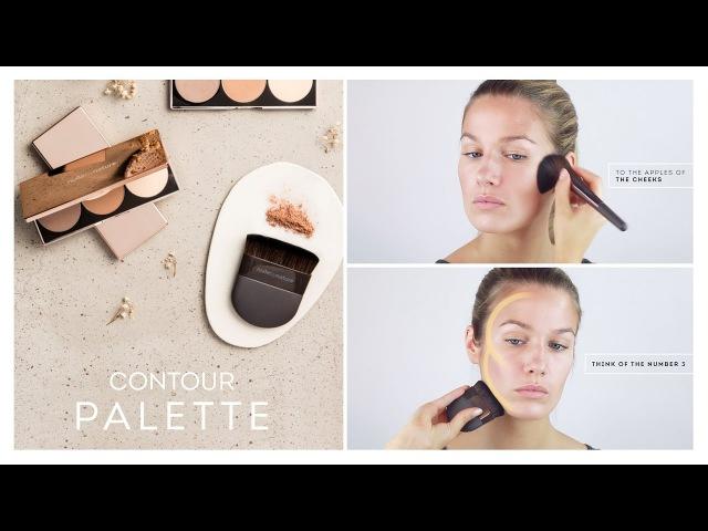 Как использовать палетку для контурирования Contour Palette by Nude by Nature
