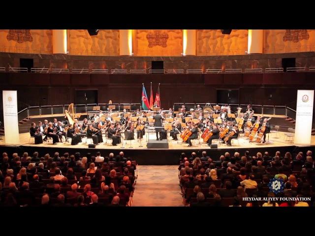 Hannoverdə Azərbaycan mədəniyyəti gecəsi - Azərbaycan Dövlət Simfonik Orkestri, Karvan Азеры оркестр - Азербайджанский оркестр