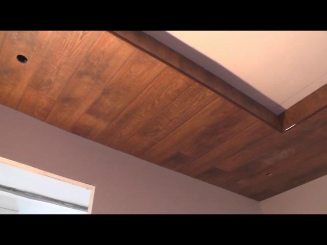 Потолок из ламината своими руками фото 14
