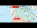 Зона российского влияния от Аляски до Орегона. Аляску продала не Екатерина, а Ал