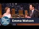 Emma Watson Once Mistook Jimmy Fallon for Jimmy Kimmel
