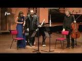 Eldar Nebolsin, Janine Jansen and Torleif Thedeen play Shostakovitsch Piano trio op. 8