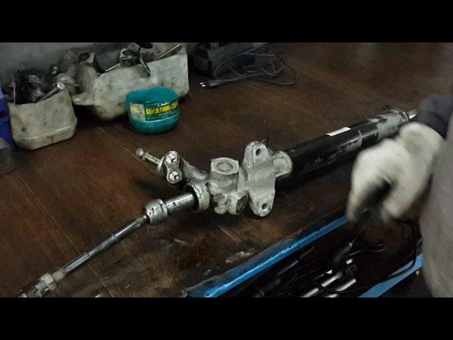 Причины стука рулевой рейки Как правильно подтянуть рейку