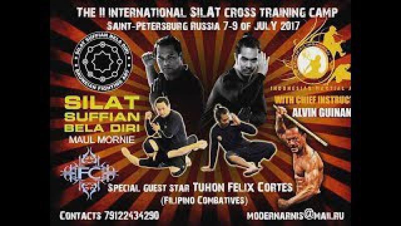 Silat and FMA in Russia - Maul Mornie, Alvin Guinanao, Felix Cortes