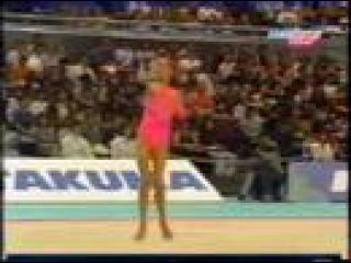 Алина Кабаева - скакалка (многоборье) // Чемпионат мира 1999