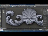 carving modeling in 3ds max pt2 carving modeling classic modeling tutorial Modeling Ornamental
