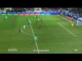 Эйбар 0:1 Барселона | Гол Дениса Суареса