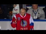 Владимир Путин принял участие в гала-матче VI Всероссийского фестиваля Ночной хоккейной лиги.