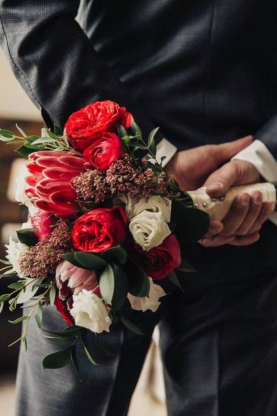 Букет невесты Натальи. Фотограф: Слава Павлов (slavapavlov.com)
