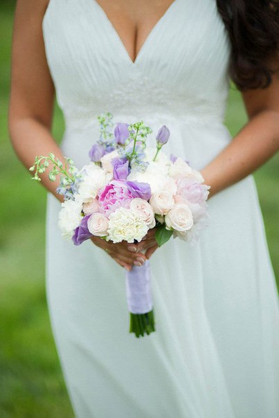 Букет невесты Саши. Фотограф: Георгий Батурин (gerabaturin.ru)
