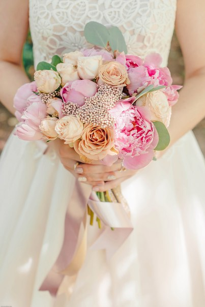 Букет невесты Виктории. Фотограф: Мари Булкина (boolkina.com)