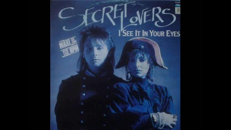 Secret Lovers - I See It In Your Eyes