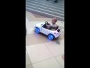Наши первые уроки по вождению.