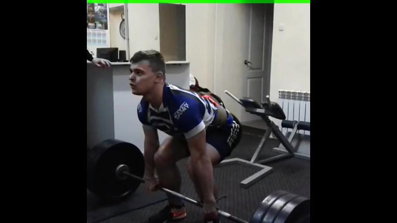 Анатолий Гранковский. Становая тяга - 180 кг