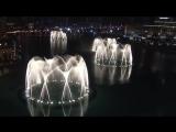 Фонтан в Дубае под песню Уитни Хьюстон