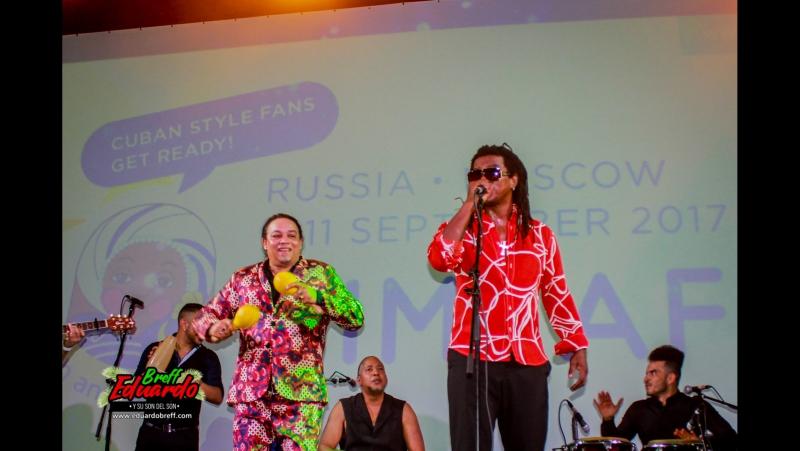 Эдуардо Брефф и Майито Ривера в России
