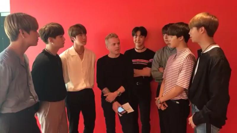 BTS интервью для KIIS FM ( new 23/05/17)