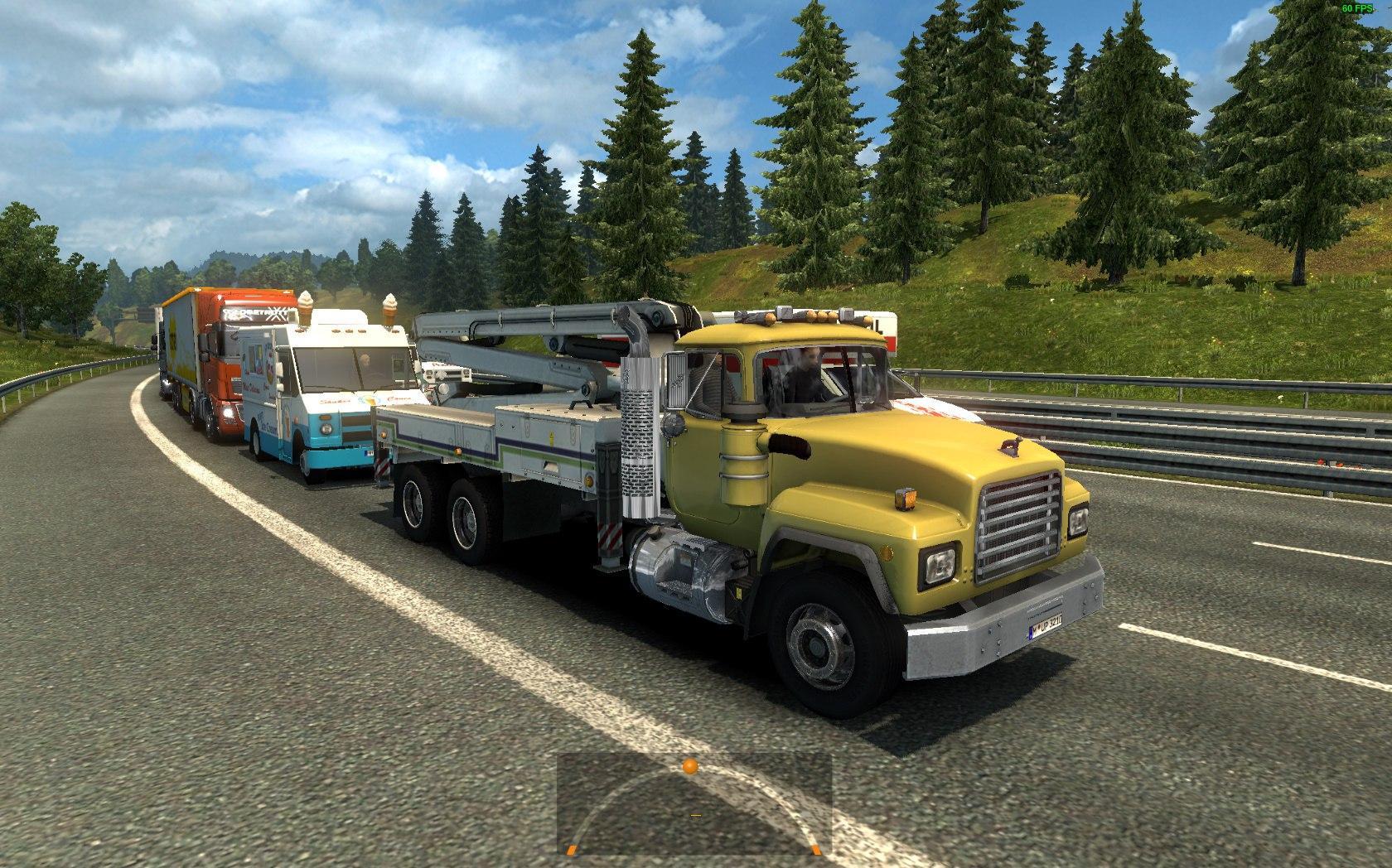 Американский Трафик для Европы для Euro Truck Simulator 2 - Скриншот 1