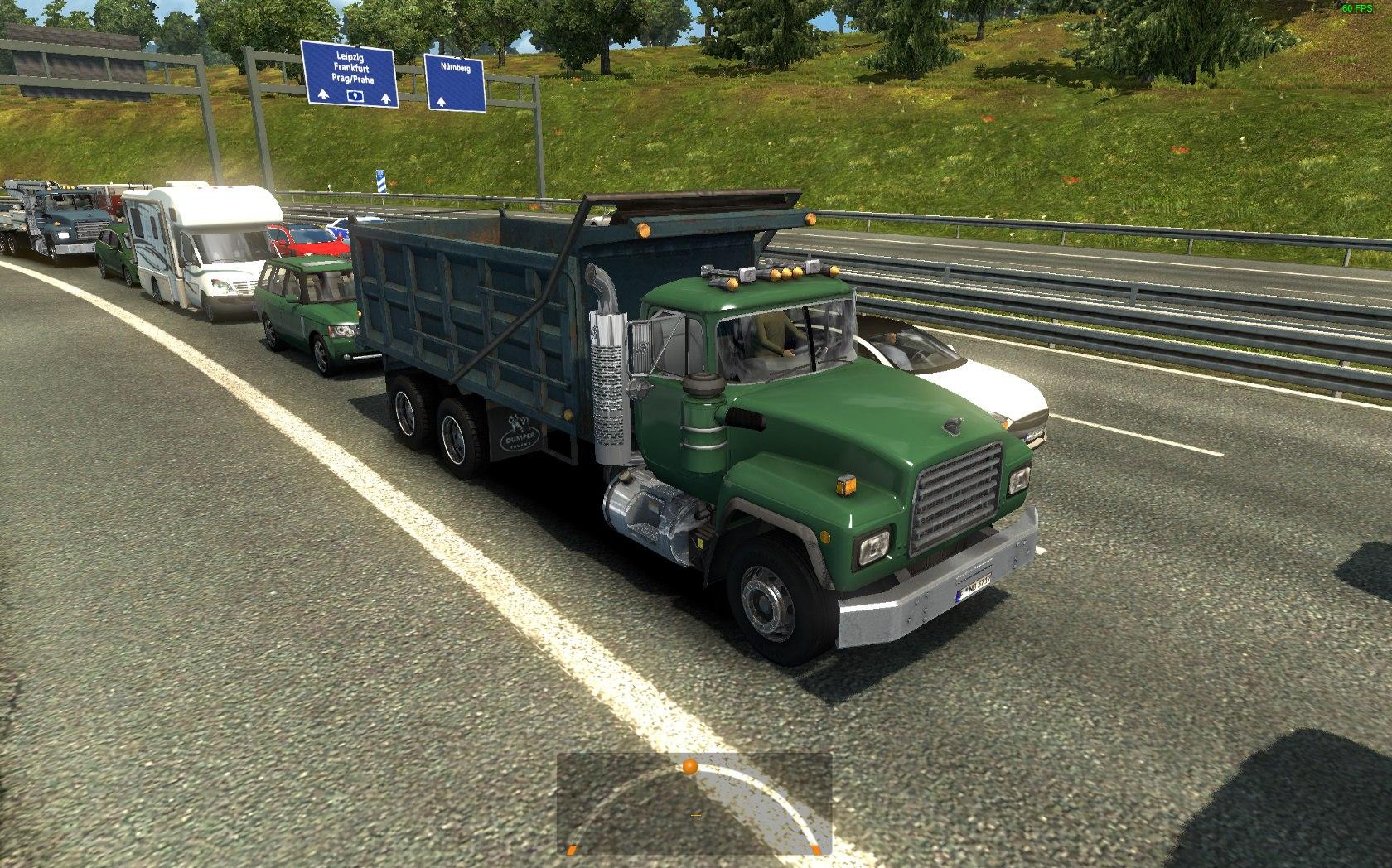 Американский Трафик для Европы для Euro Truck Simulator 2 - Скриншот 2