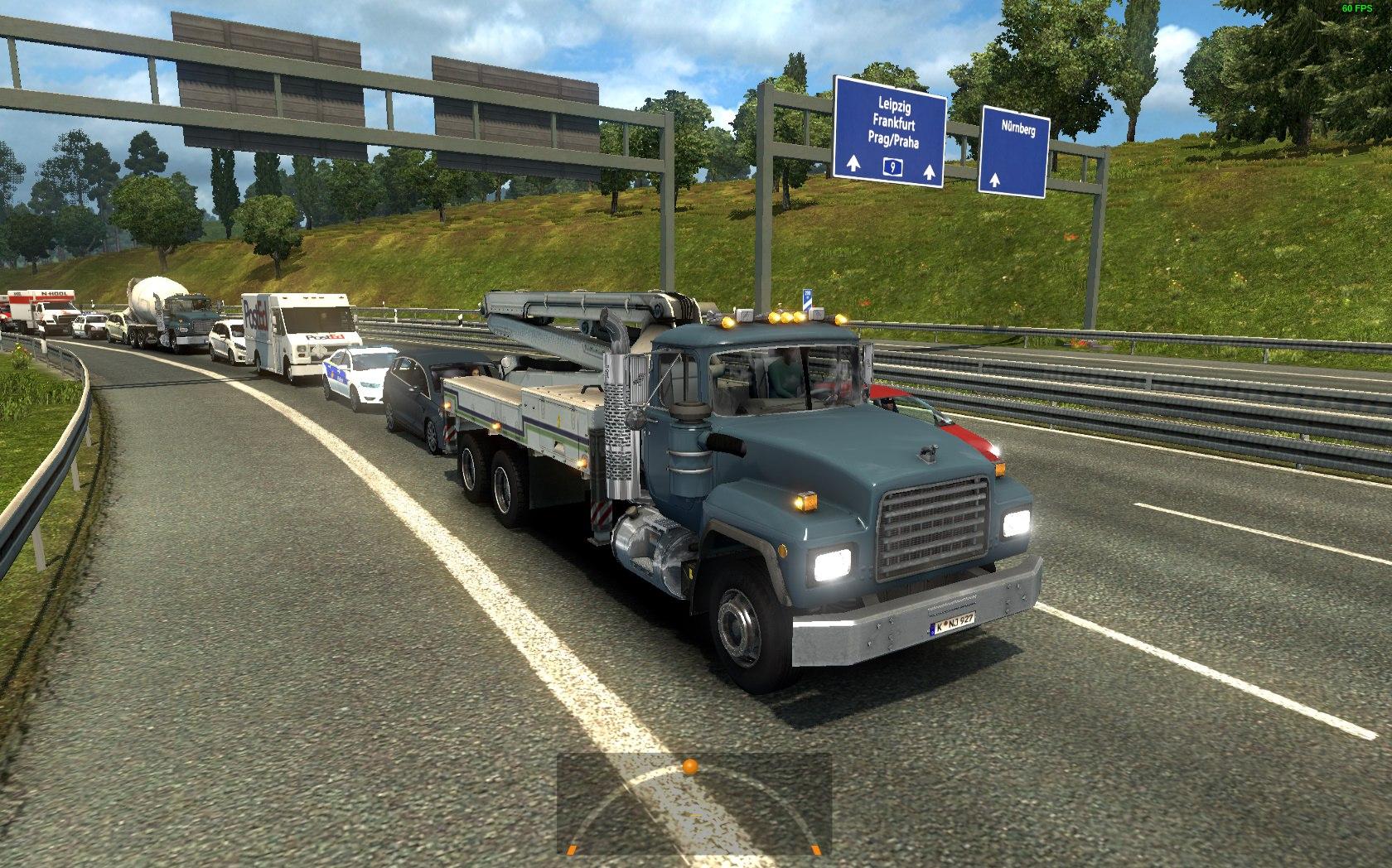 Американский Трафик для Европы для Euro Truck Simulator 2 - Скриншот 3