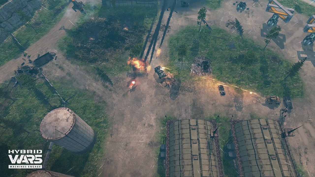 Hybrid Wars (2016) PC - Скриншот 2