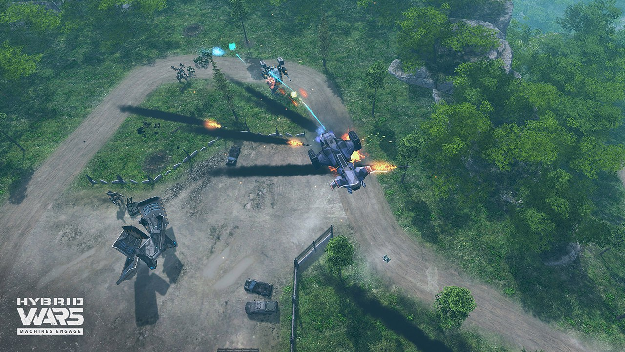 Hybrid Wars (2016) PC - Скриншот 1
