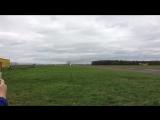 Взлёт ЯК-40 с аэродрома Северка