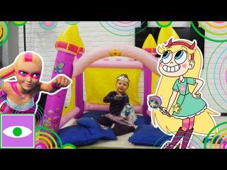 Барби Супер Принцесса спасает принцессу от Дракона Стаффи, Воздушный замок звездной принцессы