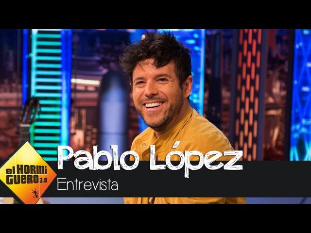 Pablo López nos enseña, en exclusiva, canciones que aún no ha sacado a la luz - El Hormiguero 3.0