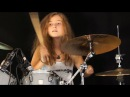 Master Of Puppets Metallica drum cover by Sina