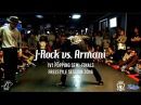 J Rock vs Armani 1v1 Popping Semi Finals Freestyle Session 2016 SXSTV